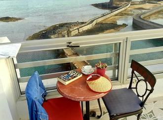 Terraza del restaurante Hotel Miramar